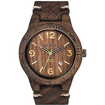 WEWOOD Analog quartz men's watch with leather WW08007