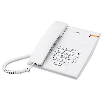 Stacjonarny telefon Alcatel T180 Versatis biały