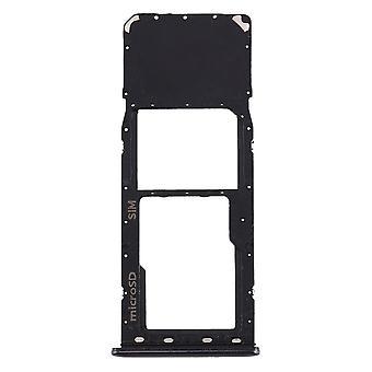 Sim Karten Halter für Samsung Galaxy A20 A30 A50 Schwarz Card Tray Micro SD Ersatzteil