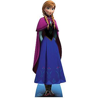 Anna aus gefrorenen Disney Mini Karton Ausschnitt / f