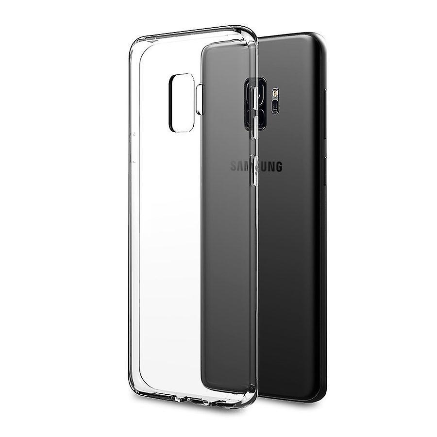 iCoverCase | Samsung Galaxy S9 |  Transparent TPU Skal