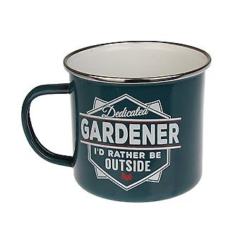 History & Heraldry Gardener Tin Mug 13