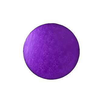 Culpitt 12 pulgadas de la placa de la torta redonda tambor púrpura