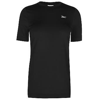 Reebok Womens Workout T shirt Damer kort ærmet Performance T-shirt Tee Top