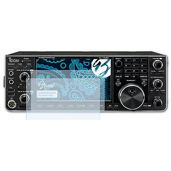 Bruni 2x Screen Protector compatible with Icom IC-7610 Protective Film