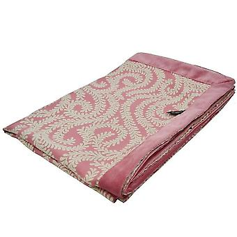 Mcalister textiles petite feuille rose rose jeter