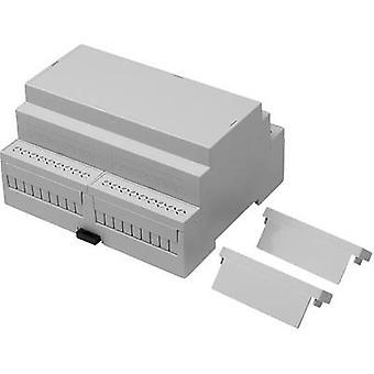 Axxatronic CNMB-6-KIT-CON DIN rail casing 90 x 106.0 x 58 Polycarbonate (PC) 1 pc(s)