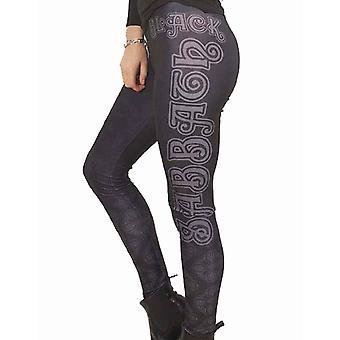 Black Sabbath Leggings Womens Black Celtic band Logo new Official