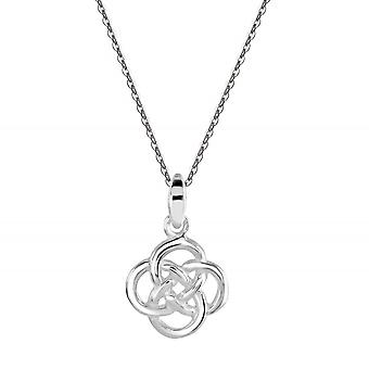 Kit Heath Heritage Sterling Silver Celtic Small Knot Pendant 9276HP