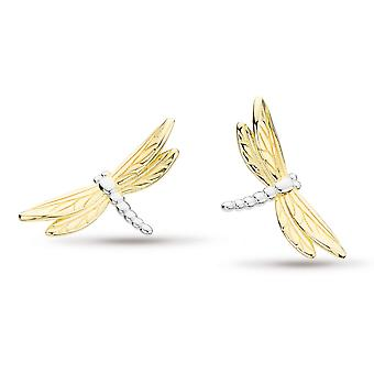 Kit Heath Blossom Flyte Dragonfly Stud Boucles d'oreilles 40354GRP
