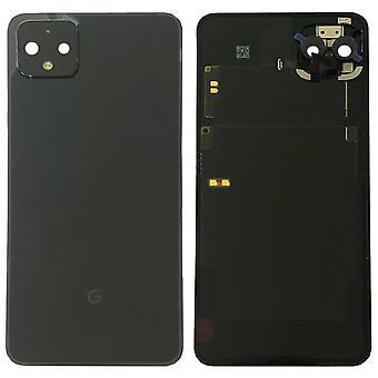 Google Battery Cover pour Pixel 4 XL Black Just Black Battery Cover Spare Part Backcover Lid Battery