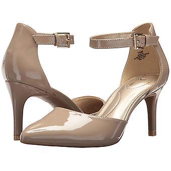 Bandolino Womens 25030433 a subliniat Toe glezna curea D-Orsay pompe