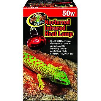 Zoo Med Foco Infrarrojo Heat Lamp 75W (Reptiles , Chauffage , Lampes et Ampoules)