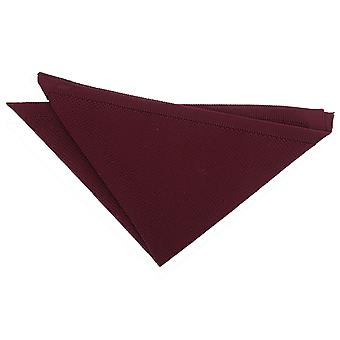 Cabernet Red Knitted Pocket Square