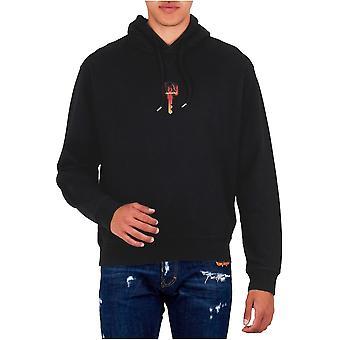 Sweatshirt mit Kapuze Logo Frühlingsschlüssel - Dsquared2