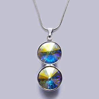 Pendant necklace with Swarovski crystals PMB 3.6