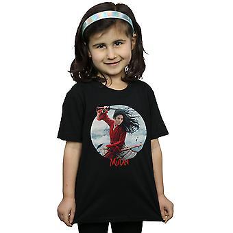 Disney Girls Mulan Movie Sword Juliste T-paita