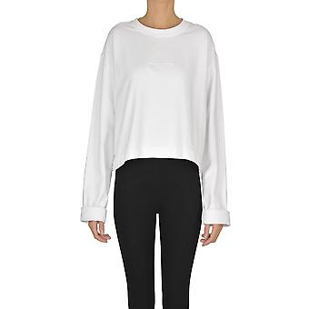 Acne Studios Ezgl151042 Women's White Cotton Sweatshirt
