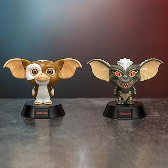 Gremlins 3D Caractère Mini Collectable Icon Lights - LED Super Bright et Cool