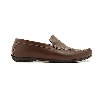 Loake Goodwood Brown Waxy Leather