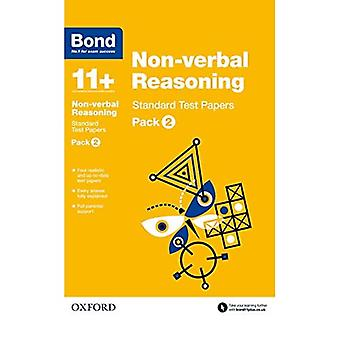 Bond 11+: Non-verbal Reasoning: Standard Test Papers: Pack 2
