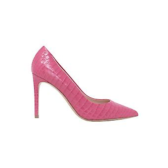 Ninalilou 301515lvpink Women's Pink Leather Pumps