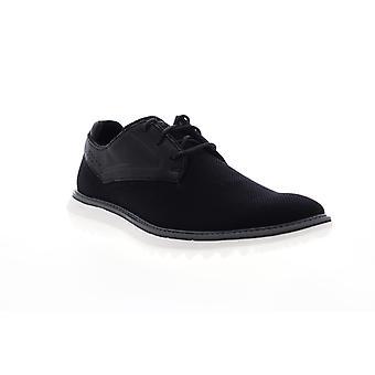 Mark Nason Mako Stayton  Mens Black Mesh Casual Lace Up Oxfords Shoes