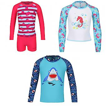 Regatta Childrens/Kids Valo Rash Suit