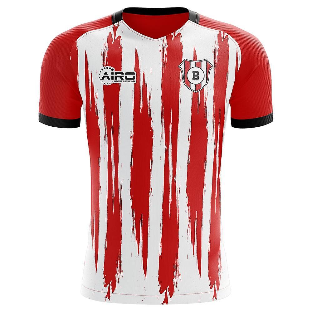 New 2020-2021 Athletic Bilbao Home Soccer Jersey Short Sleeve T-shirt S-2XL