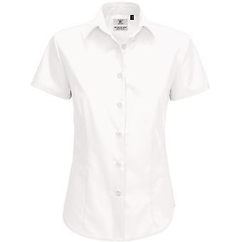 B&C Ladies Smart Short Sleeve Poplin Shirt / Ladies Shirts