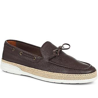 Jones Bootmaker Mens Solomon Espadrille Tassel Loafer