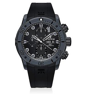 Edox - Wristwatch - Men - CO-1 - Carbon Chronograph Automatic - 01125 CLNGN NING