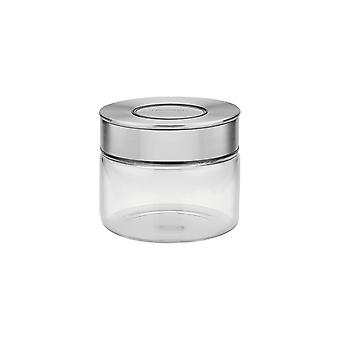 Tramontina Glass Canister with Airtight Seal, 0.4L