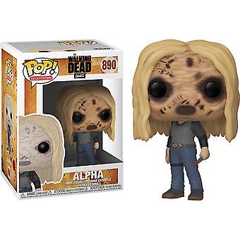 The Walking Dead Alpha with Mask Pop! Vinyl