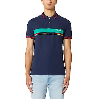 Wrangler Men's Polo Shirt Color Block