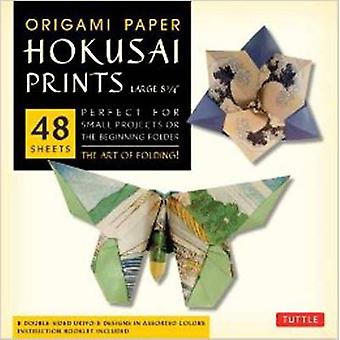 Origami Paper Hokusai Prints Large 8 14 by Edited by Tuttle Publishing