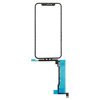 iPhone 11 Pro - タッチスクリーンデジタイザー&トップガラスレンズ OCA - ブルーフィルム用