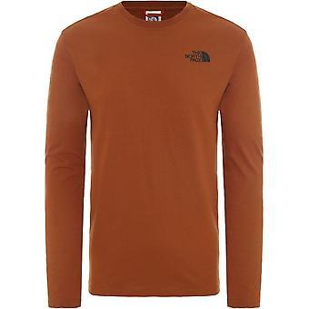 La T-shirt North Face Red Box T9493LUBT universale tutto l'anno uomo