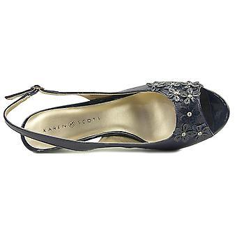 Karen Scott Women's Shoes Bronaa Peep Toe Special Occasion Mule Sandals