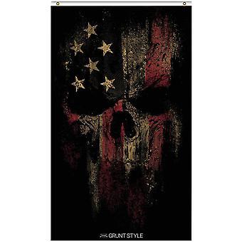 Grunt Style American Reaper 2.0 Flag - Black