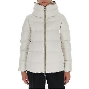 Herno Pi047dr121981100 Women's White Nylon Outerwear Jacket