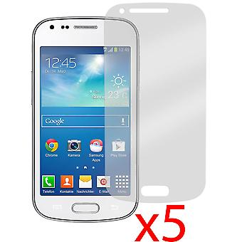 5x Screen Protector Cover for Samsung Galaxy Trend Plus S7580