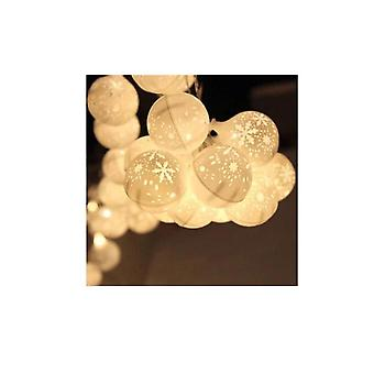 Christmas Festoon String Lights 50 Led