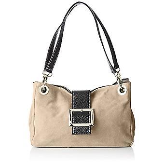 Good Bags 10027 Handbag Women Grey (Fango) 26.5x18x12 cm (W x H x L)