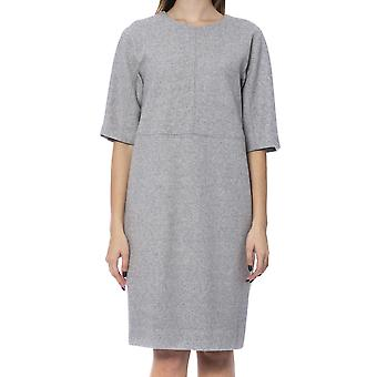 Grey Dress Peserico Women
