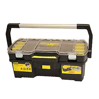 Stanley Tools Toolbox with Tote Tray Organiser 60cm (24in) STA197514