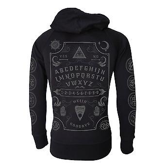 Darkside - ouija board - unisex lightweight hoodie - black
