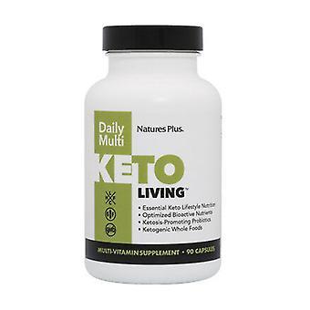 Keto Living Daily Multi 90 capsules