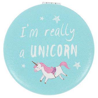 Something Different Unicorn Compact Mirror