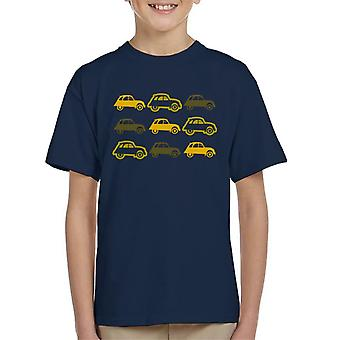 Citro�n Vintage 2CV Pattern Kid's T-Shirt